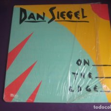 Discos de vinilo: DAN SIEGEL ‎– ON THE EDGE - LP PAUSA 1985 - JAZZ 80'S - SIN APENAS USO - EDICION USA. Lote 262137780