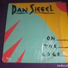 Discos de vinilo: DAN SIEGEL – ON THE EDGE - LP PAUSA 1985 - JAZZ 80'S - SIN APENAS USO - EDICION USA. Lote 262137780