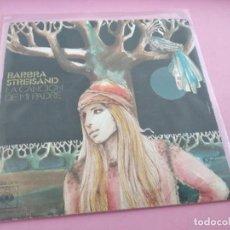 Discos de vinilo: BARBRA STREISAND - LA CANCION DE MI PADRE MY FATHER'S SONG (CBS) SINGLE ESPAÑA. Lote 262139665
