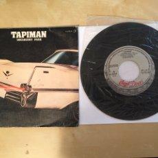 "Discos de vinilo: TAPIMAN - GOESBERRY PARK - PROMO SINGLE 7"" - 1980. Lote 262144375"