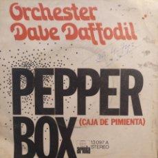 Discos de vinilo: DAVE DAFFODIL.** PEPPER BOX * GET GOIN'**. Lote 262144855