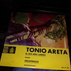 Discos de vinilo: TONIO ARETA. Lote 262147410
