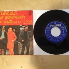 """Discos de vinilo: SHELLY Y NUEVA GENERACION / LA MUJER DIABLO (DEVIL WOMAN) - SINGLE 7"""" - 1968 - MUY BUSCADO - SPAIN. Lote 262147470"""