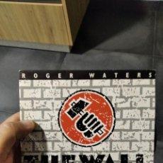 Discos de vinilo: SINGLE ROGER WATERS THE WALK LIVE IN BERLIN VG++ EX. Lote 262156815
