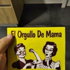 Discos de vinilo: SINGLE HOMBRES G EL ORGULLO DE MAMÁ VG++. Lote 262160130