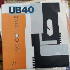 "Discos de vinilo: UB40 - I'VE GOT MINE (7"", SINGLE) (VIRGIN) 105.082 (1983/EU). Lote 262164265"