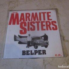 Discos de vinilo: THE MARMITE SISTERS - BELPER E.P. FLEXI - TEA TAPES & RECORDS 1992. Lote 262165020