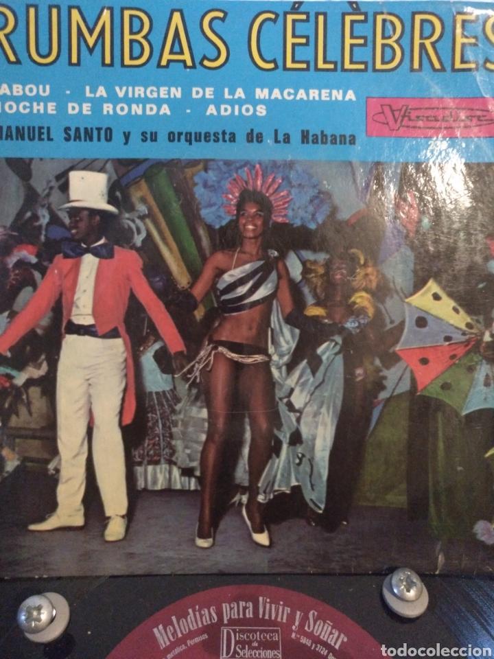 TITO RIVERA AND HIS CUBAN ORCHESTRA.*RUMBAS CELEBRES* (Música - Discos de Vinilo - EPs - Grupos y Solistas de latinoamérica)