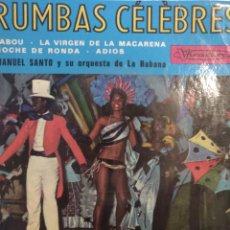 Discos de vinilo: TITO RIVERA AND HIS CUBAN ORCHESTRA.*RUMBAS CELEBRES*. Lote 262169605