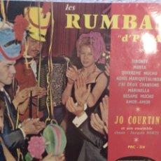 Discos de vinilo: JO COURTIN.** LES RUMBAS D' PAPA **. Lote 262169840