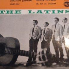 Discos de vinilo: THE LATINS.** CARNAVALITO QUEBRAEÑO * SEÑOR JUEZ * REGALAME ESTA NOCHE * ME VOY PA' LA HABANA**. Lote 262170715