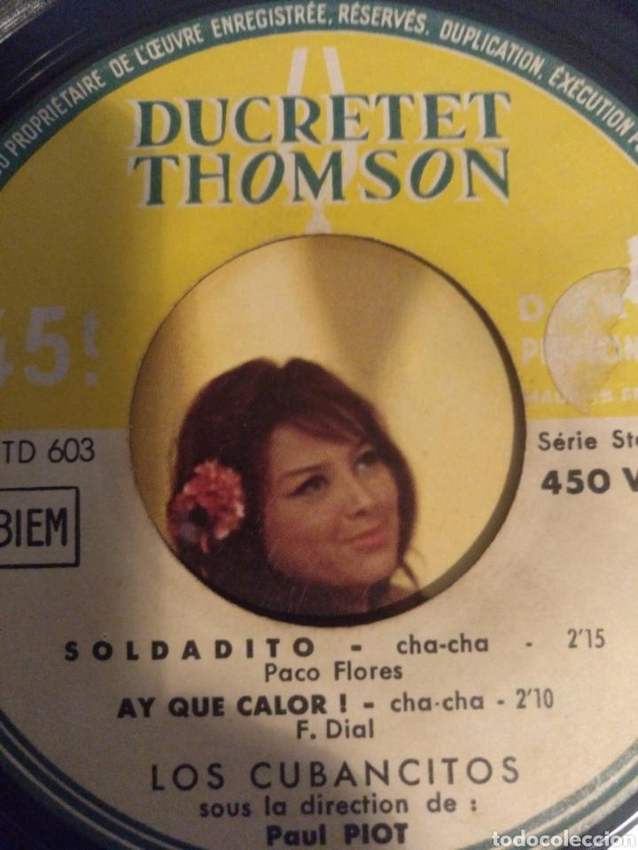 Discos de vinilo: LOS CUBANCITOS.** ZARABANDA * OLE MARÍA * SOLDADITO* AY QUE CAlOR** - Foto 2 - 262171130