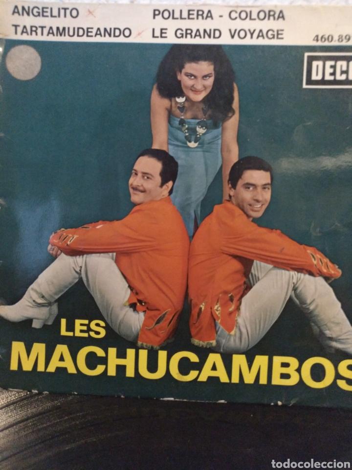 LES MACHUCAMBOS.** ANGELITO* POLLERA COLORA * TARTAMUDEANDO * LE GRAND VOYAGE** (Música - Discos de Vinilo - EPs - Grupos y Solistas de latinoamérica)