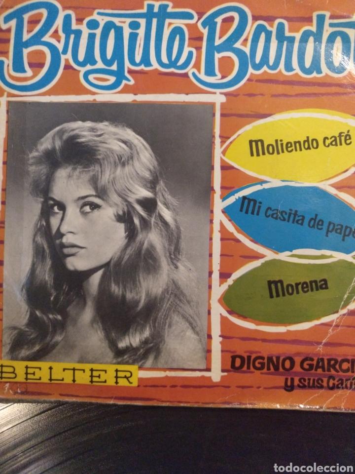 DIGNO GARCIA Y SIS CARIOS.** BRIGITTE BARDOT * MOLIENDO CAFÉ * MI CASITA DE PAPEL * MORENA** (Música - Discos de Vinilo - EPs - Grupos y Solistas de latinoamérica)