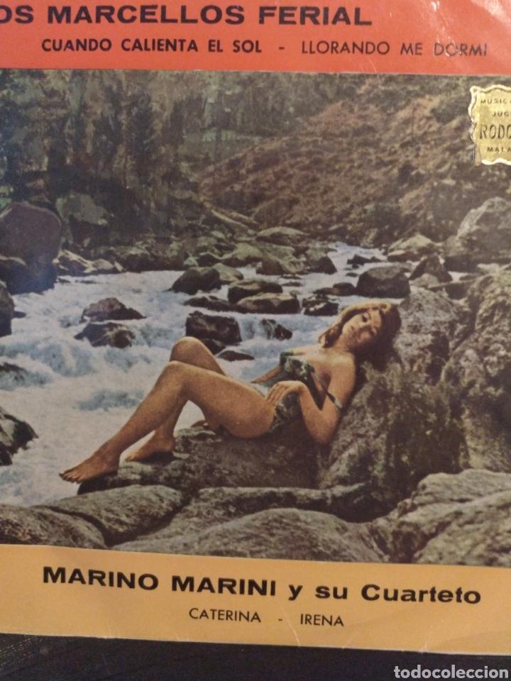 LOS MARCELLOS FERIAL.** MARINO MARINI Y SU CUARTETO ** (Música - Discos de Vinilo - EPs - Grupos y Solistas de latinoamérica)