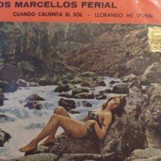 Discos de vinilo: LOS MARCELLOS FERIAL.** MARINO MARINI Y SU CUARTETO **. Lote 262172185