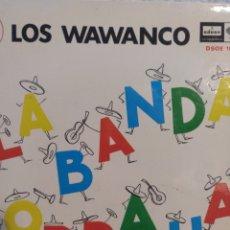 Discos de vinilo: LOS WAWANCO.** LA BANDA BORRACHA * PASITO A PASO * CUMBIA QUE TE VAS DE RONDA* LA CASITA BLANCA**. Lote 262173530