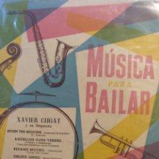 Discos de vinilo: XAVIER CUGAT Y SU ORQUESTA.** MÚSICA PARA BAILAR **. Lote 262174375