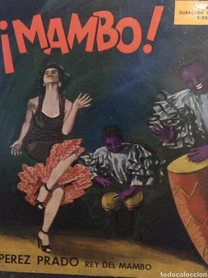 PEREZ PRADO.** REY DEL MAMBO ** (Música - Discos de Vinilo - EPs - Grupos y Solistas de latinoamérica)