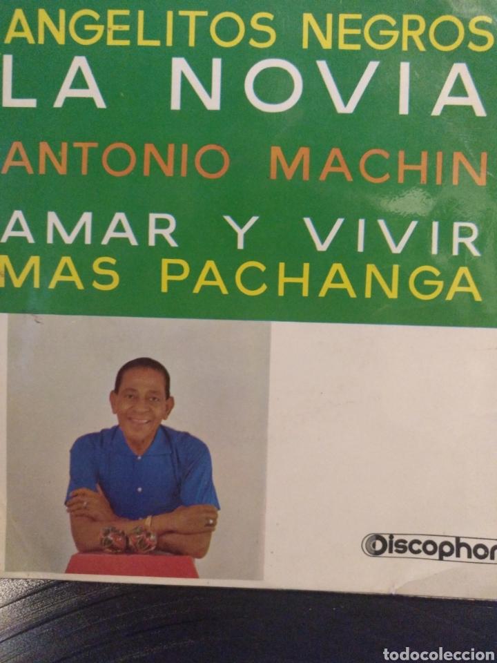 ANTONIO MACHIN.** ANGELITOS NEGROS * LA NOVIA * AMAR Y VIVIR * MAS PACHANGA** (Música - Discos de Vinilo - EPs - Grupos y Solistas de latinoamérica)