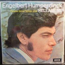 Discos de vinilo: ENGELBERT HUMPERDINCK // RELEASE ME// 1969 //(VG+ VG+).LP. Lote 262179270