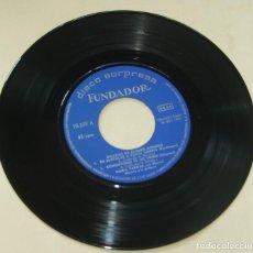 Discos de vinilo: MARIA VARGAS - BULERIAS DE ALVARO DOMECQ - EP DISCO SORPRESA FUNDADOR. Lote 262180600
