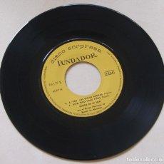 Discos de vinilo: CARMEN MORENO / EL CHATO DE LA ISLA - EP 1967 - D.S. FUNDADOR 10137. Lote 262180960