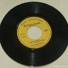 Discos de vinilo: CAMPANILLEROS DE SEVILLA - BRILLA EL SOL - 7'' EP FUNDADOR 1967. Lote 262182040