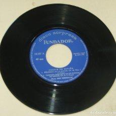 Discos de vinilo: CHOPIN EN ESPAÑA - DISCO SORPRESA FUNDADOR - EP PIANO JOSE TORDESILLAS. Lote 262182825