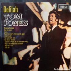 Discos de vinilo: TOM JONES // DELILAH // 1968 // (VG+ VG+). LP. Lote 262182860