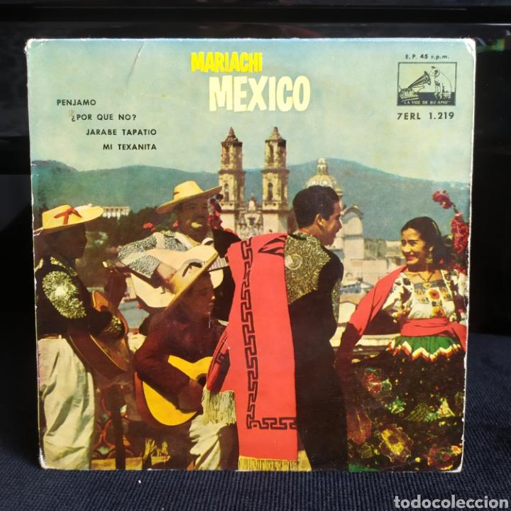 PEPE VILLA - MARIACHI MEXICO 1958 (Música - Discos de Vinilo - EPs - Grupos y Solistas de latinoamérica)