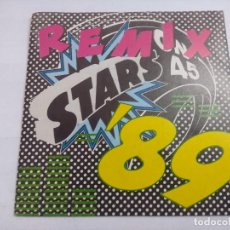 Discos de vinilo: STARS ON 45/REMIX/SINGLE PROMOCIONAL.. Lote 262196790