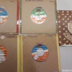 Discos de vinilo: 5 SINGLES MÚSICA DISCO CERRONE CHIC DONNA SUMMER. Lote 262196995