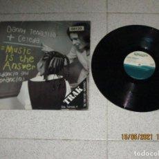 Discos de vinilo: DANNY TENAGLIA - MUSIC IS THE ANSWER ( DANCIN AND PRANCIN ) - MAXI - SPAIN - HOUSE TEMPO - LV -. Lote 262197160