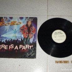 Discos de vinilo: DJ BOBO - THERE IS A PARTY - MAXI - SPAIN - CNR MUSIC - LV -. Lote 262197570