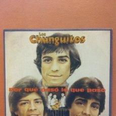 Discos de vinilo: LOS CHUNGUITOS. POR QUÉ PASÓ LO QUE PASÓ. Lote 262198195