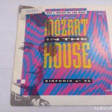 Discos de vinilo: DNA Y WALDO DE LOS RIOS/MOZART IN THE HOUSE/SINGLE.. Lote 262198325