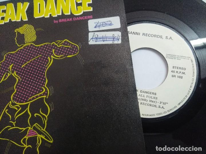 Discos de vinilo: BREAK DANCE/THATS ALL FOLKS/SINGLE PROMOCIONAL. - Foto 2 - 262198895