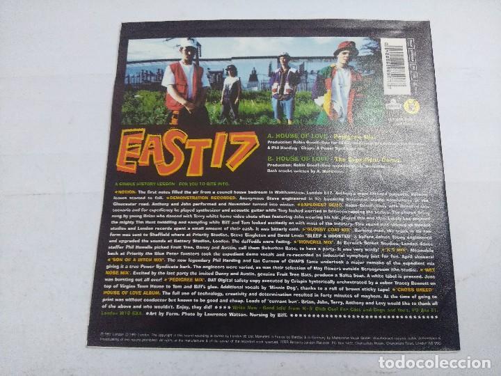 Discos de vinilo: EAST17/HOUSE OF LOVE/SINGLE. - Foto 3 - 262200790