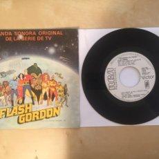 """Discos de vinilo: SHUKY LEVI - FLASH GORDON (BANDA SONORA ORIGINAL) TVE - PROMO SINGLE 7"""" - 1981 SPAIN. Lote 262201935"""
