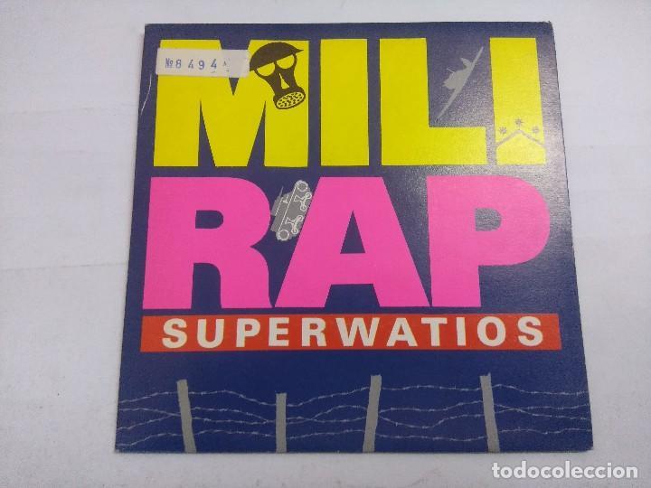 MILI RAP/SUPERWATIOS/SINGLE. (Música - Discos - Singles Vinilo - Techno, Trance y House)