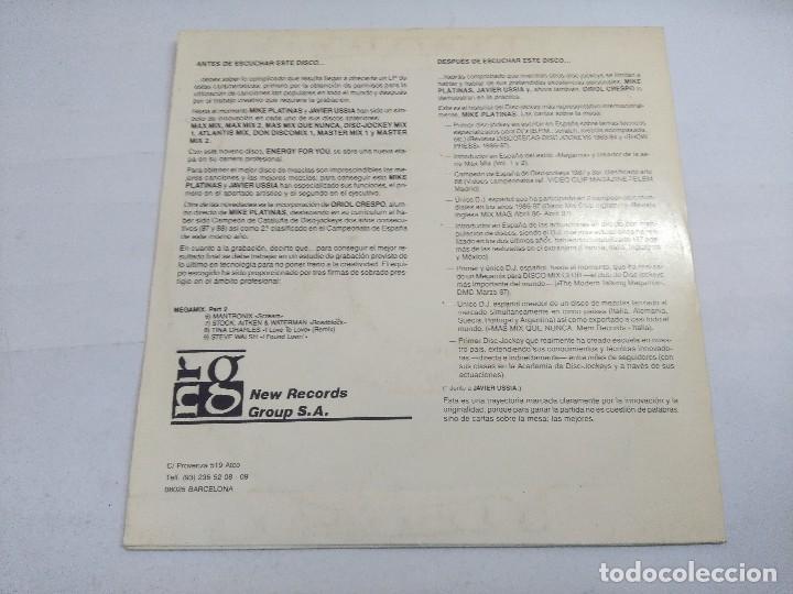 Discos de vinilo: NRG 4 U/ENERGY FOR YOU/SINGLE PROMOCIONAL. - Foto 3 - 262202540