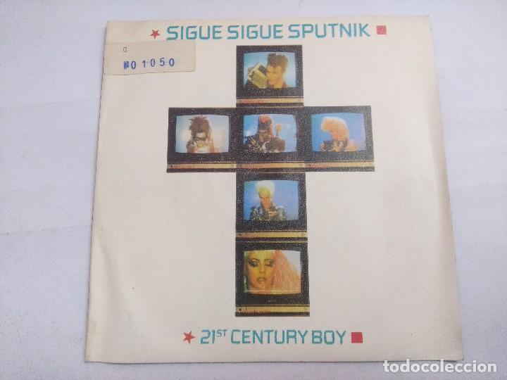 SIGUE SIGUE SPUTNIK/21 CENTURY BOX/SINGLE. (Música - Discos - Singles Vinilo - Techno, Trance y House)