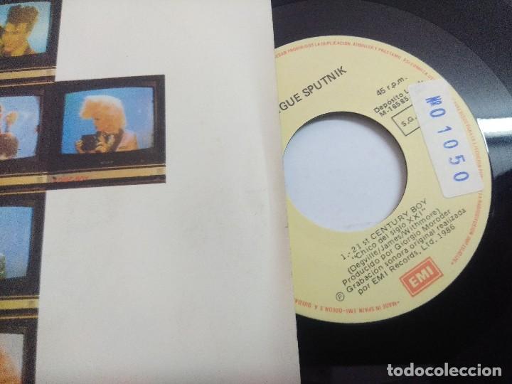 Discos de vinilo: SIGUE SIGUE SPUTNIK/21 CENTURY BOX/SINGLE. - Foto 2 - 262203090