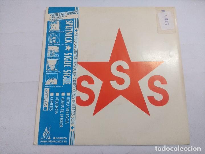 SIGUE SIGUE SPUTNIK/LOVE MISSILE-HACK ATTACK/SINGLE. (Música - Discos - Singles Vinilo - Techno, Trance y House)