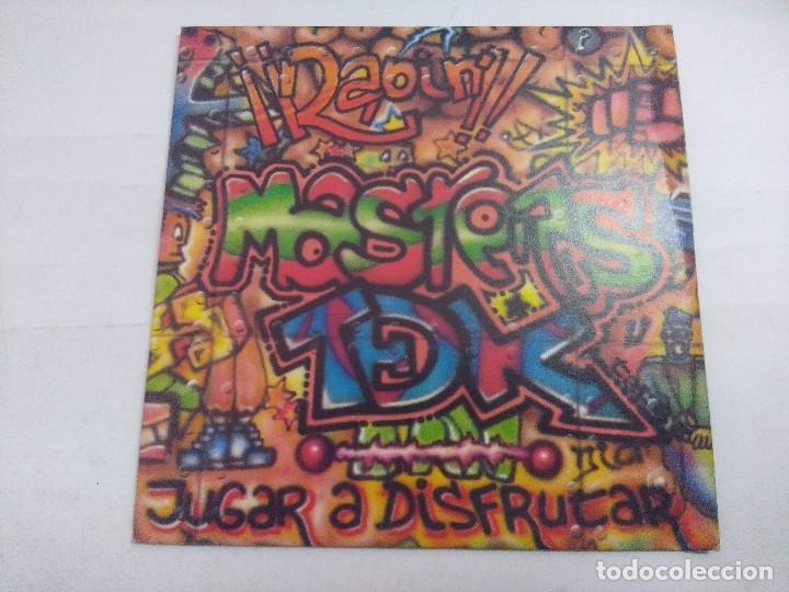 MASTERS TDK/JUGAR A DISFRUTAR/SINGLE. (Música - Discos - Singles Vinilo - Techno, Trance y House)