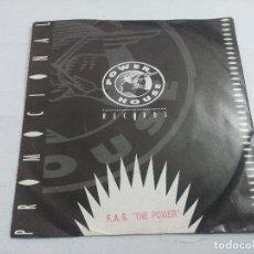 Discos de vinilo: F.A.S.THE POWER/PRIMER CORTE DEL DAT/SINGLE PROMOCIONAL.. Lote 262205395