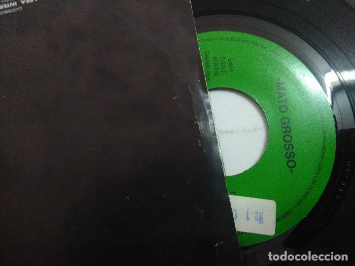Discos de vinilo: MATO GROSSO/THUNDER/SINGLE PROMOCIONAL. - Foto 2 - 262208010