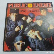 Discos de vinilo: PUBLIC ENEMY/BRING THE NOISE/SINGLE.. Lote 262209550