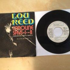 "Discos de vinilo: LOU REED - CAROLINE SAYS I II 1 Y 2 - SINGLE PROMO 7"" - 1973 SPAIN. Lote 262209765"